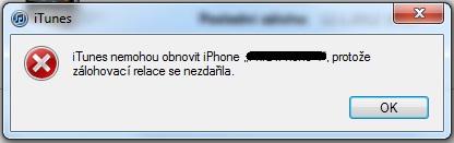 Taťkův nový iPhone aneb zase to iTunes!